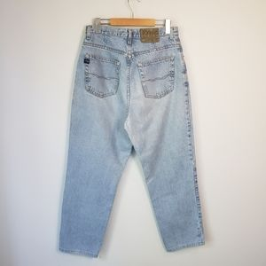 Vintage Ikeda High Waisted Tapered Mom Jeans 90s